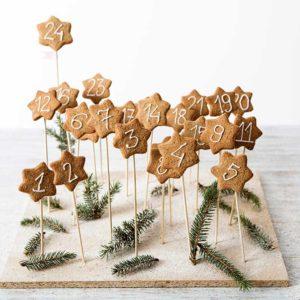 Przygotuj kalendarz adwentowy z korzennych ciasteczek
