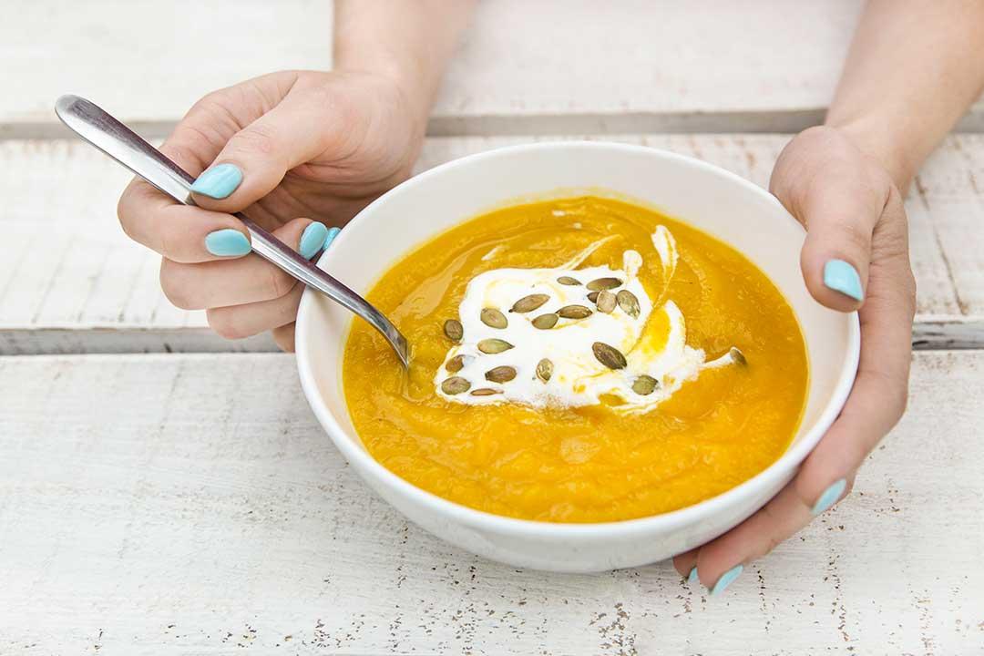 Przygotuj zupę zdyni