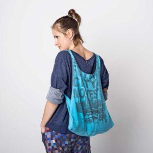 Uszyj torbę shopperkę ze starego t-shirta