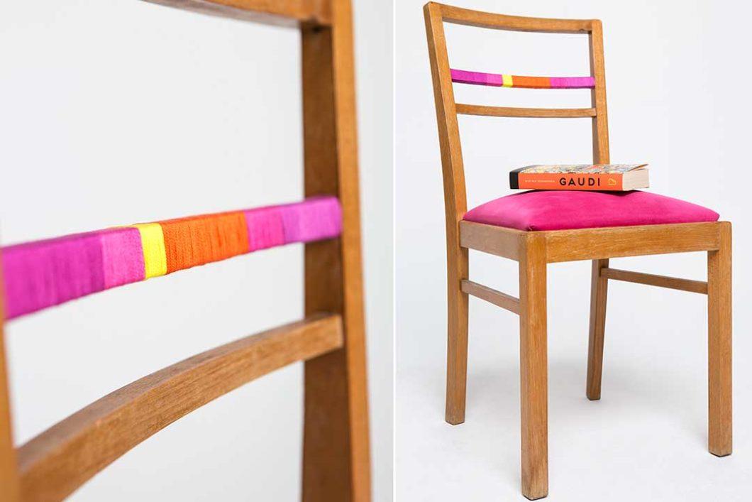 Dopasuj oparcie krzesła do kolorystyki wnętrza