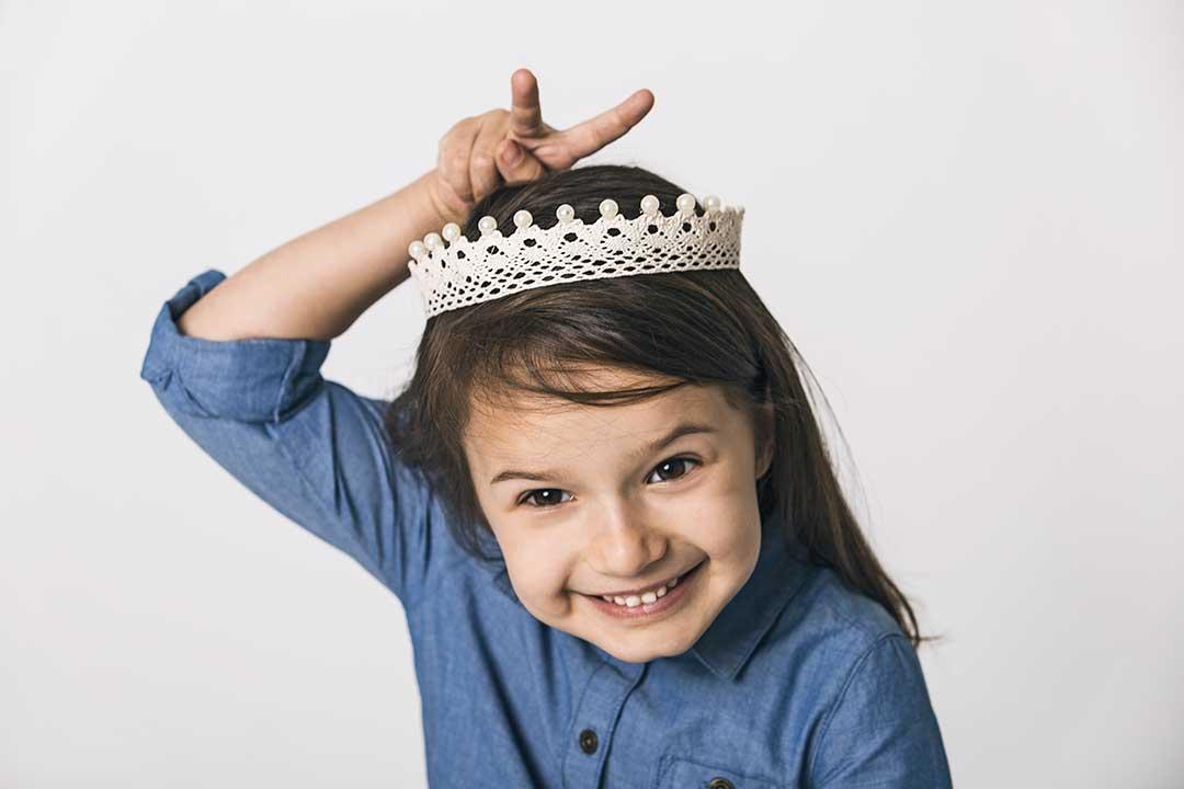 Zrób koronę zbawełnianej koronki