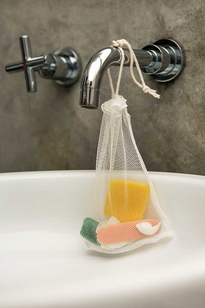 Żyj pięknie - Uszyj wielorazowy worek nazakupy lub resztki mydła