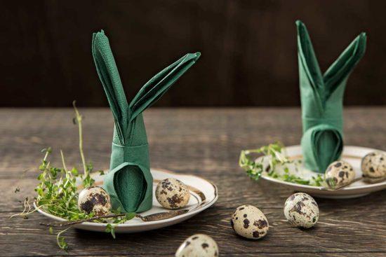 Żyj pięknie - Składamy wielkanocne króliczki z serwetek