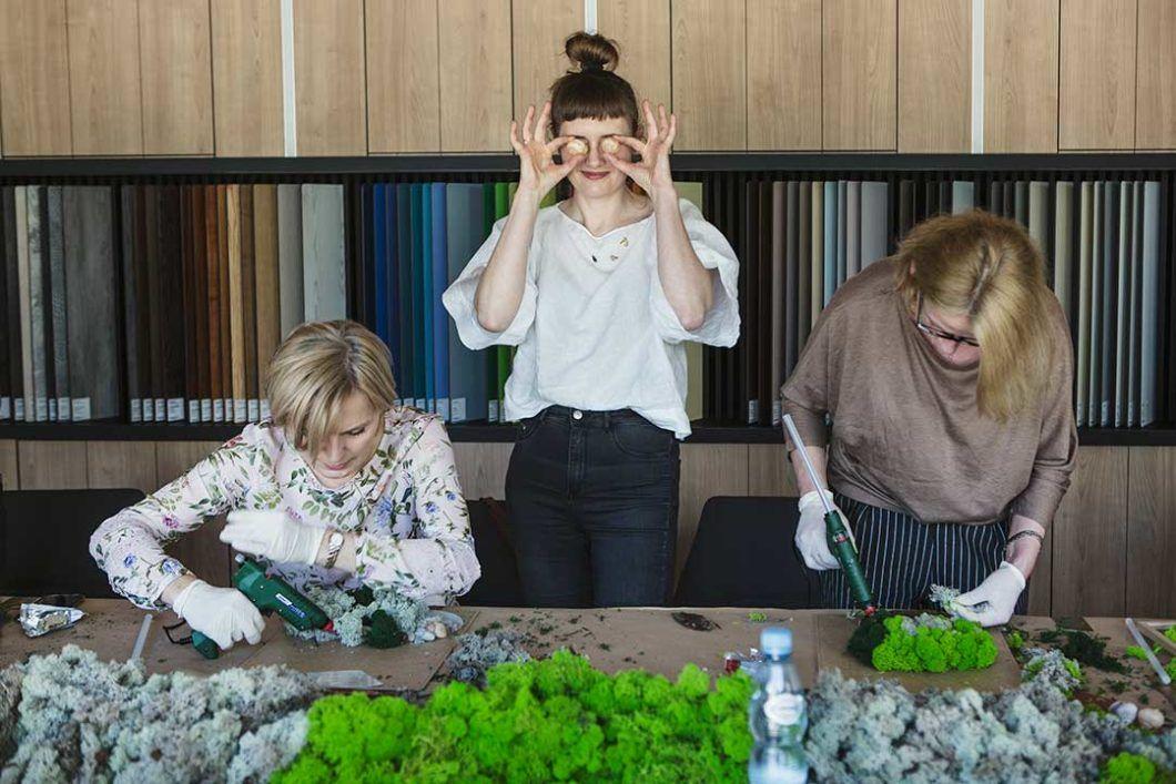 Żyj pięknie - Warsztaty zklejenia chrobotka reniferowego