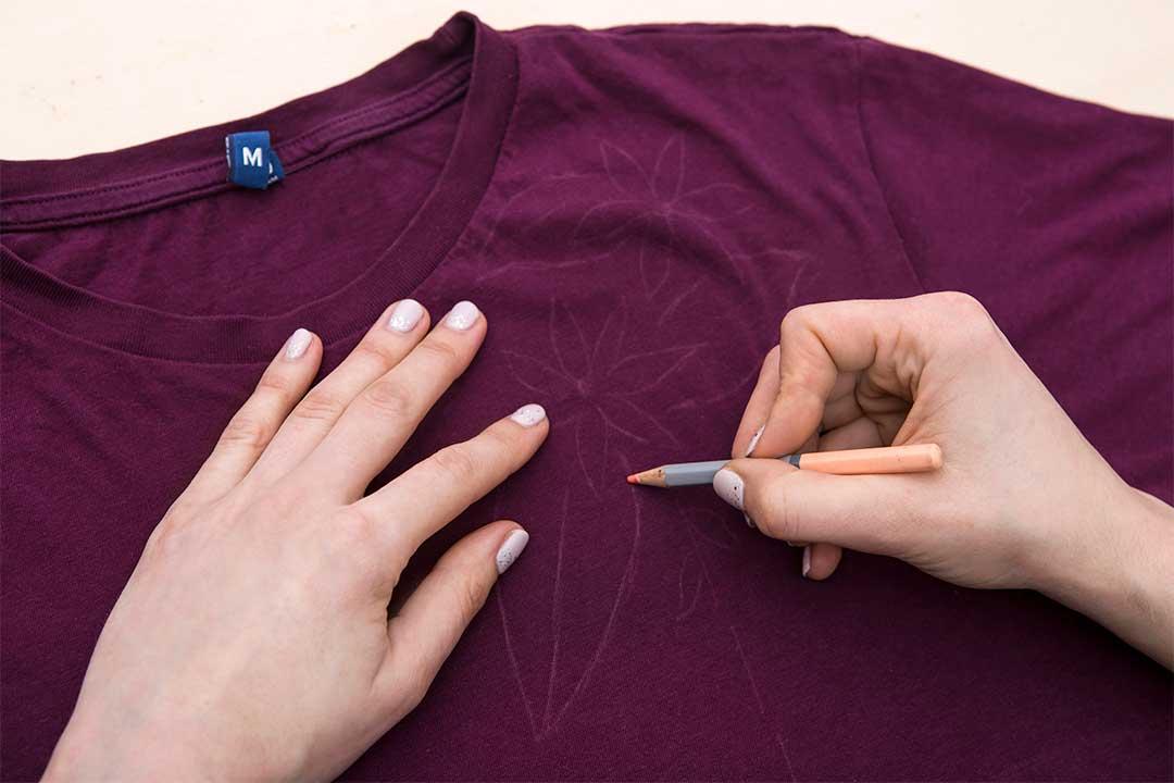 Żyj pięknie - Ozdób koszulkę kwiatowym haftem