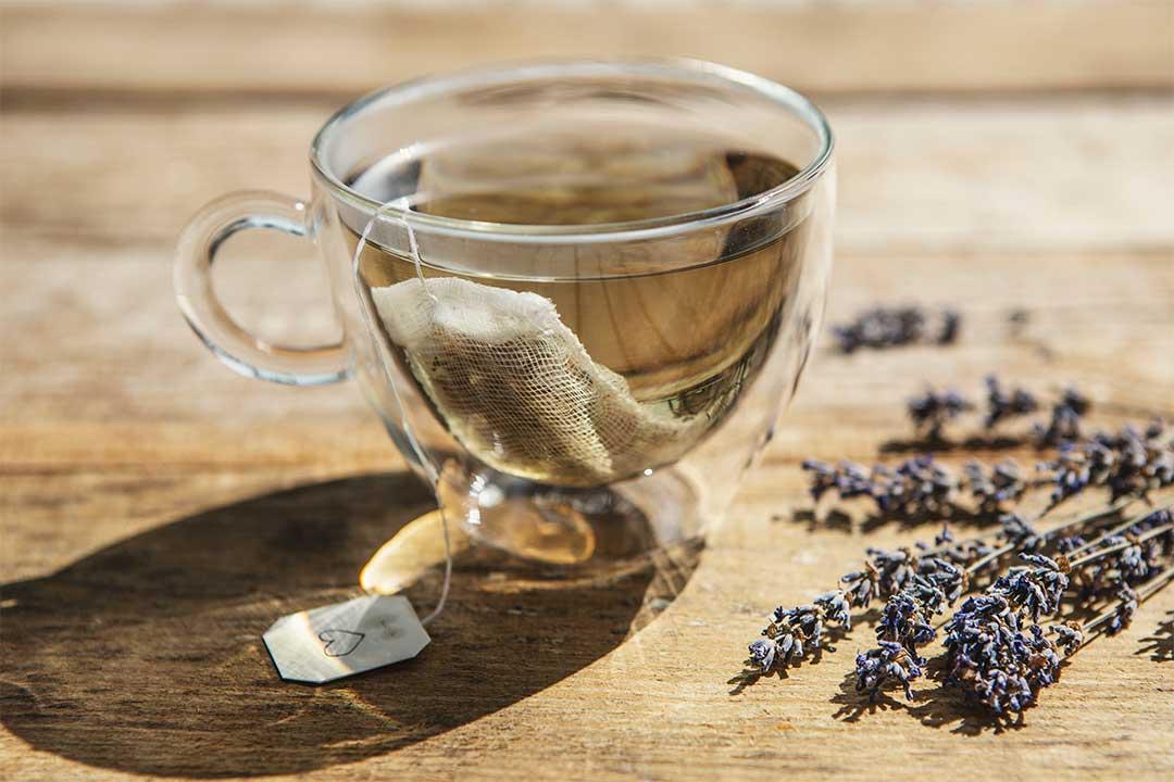 Żyj pięknie - Przygotuj herbatę zlawendy, rozmarynu imelisy