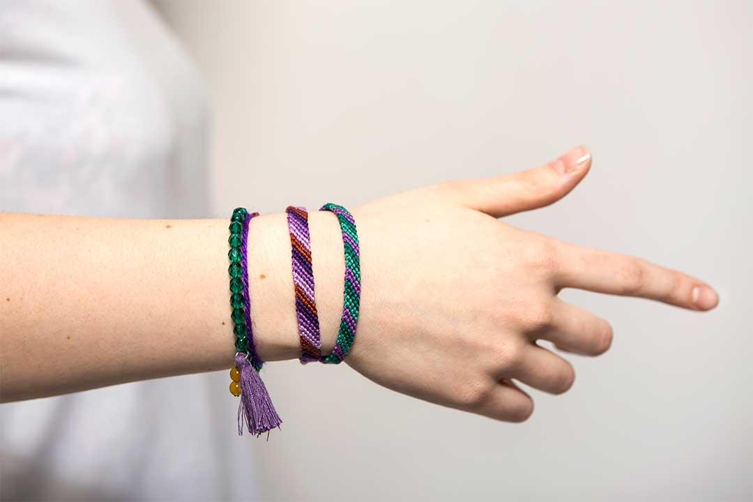 Żyj pięknie - Upleć bransoletkę przyjaźni