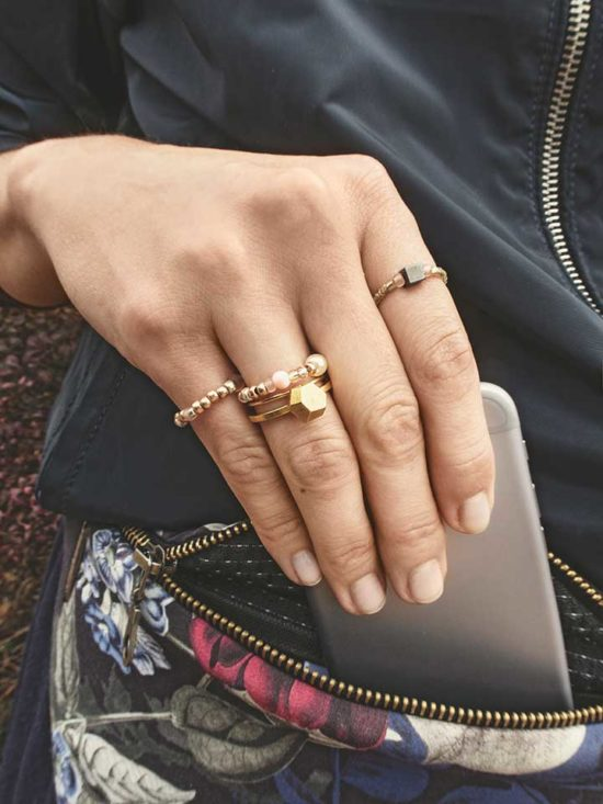 Żyj pięknie - Zrób delikatny pierścionek z koralików