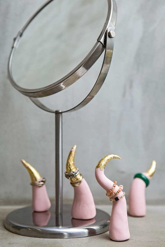 Żyj pięknie - Zrób stojaki na pierścionki