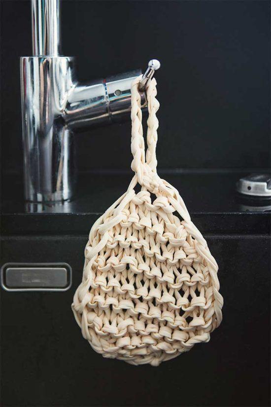Żyj pięknie - Zrób na drutach ekologiczny zmywak