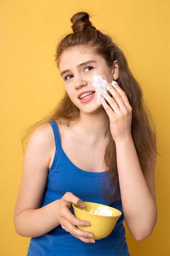 Żyj pięknie - Przygotuj maseczkę z jogurtu