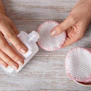 Żyj pięknie - Uszyj wielorazowe płatki kosmetyczne z bawełnianego szlafroka