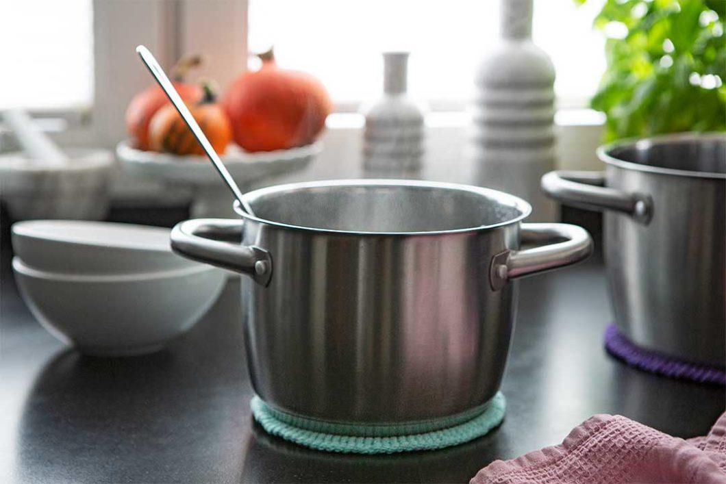 Żyj pięknie - Zrób proste podkładki pod gorące naczynia