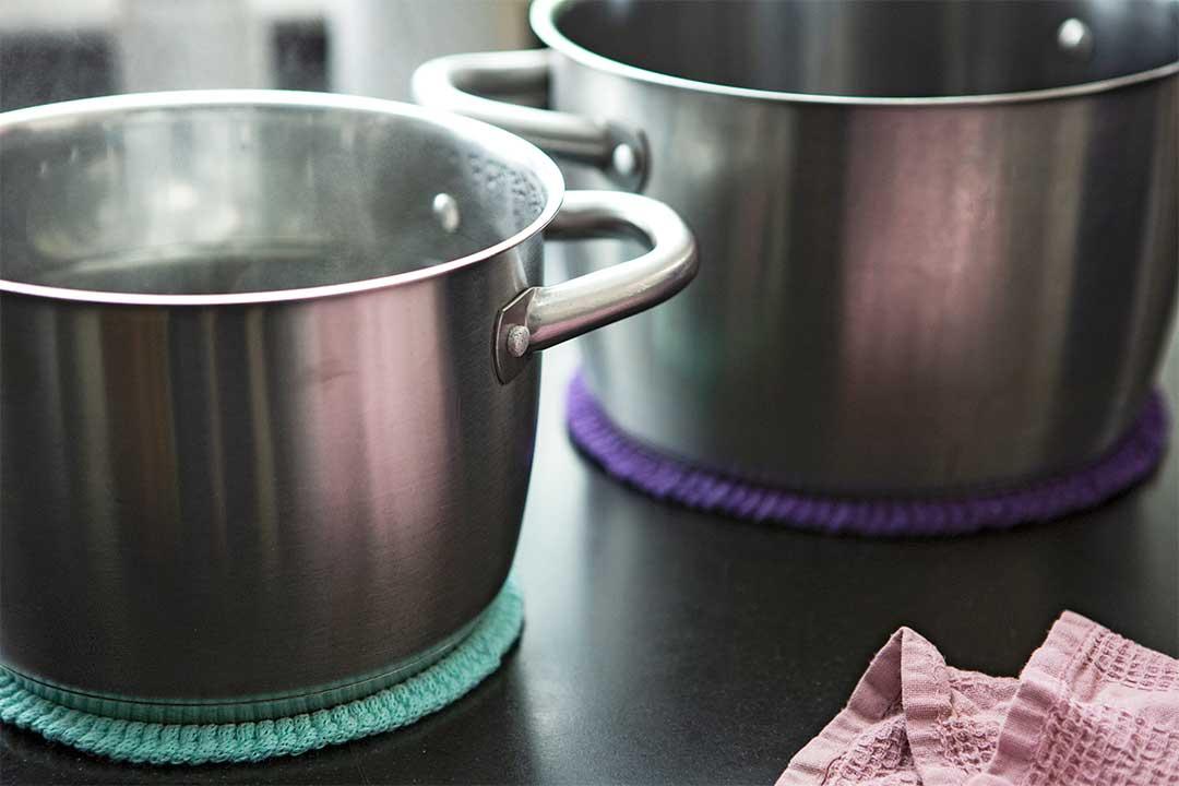 Żyj pięknie - Zrób proste podkładki podgorące naczynia