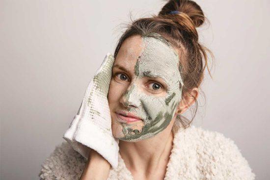 Żyj pięknie - Uszyj rękawicę do mycia twarzy