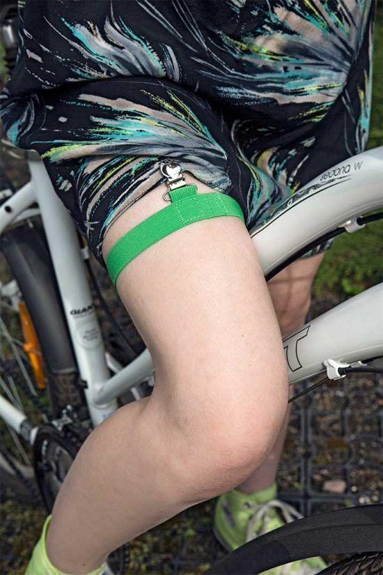 Żyj pięknie - Podwiązka na rower