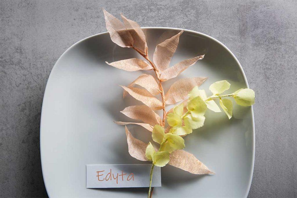 Żyj pięknie - Roślinne dekoracje zkrepiny