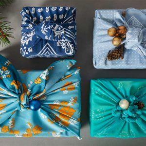 Żyj pięknie - Furoshiki - japońska sztuka pakowania