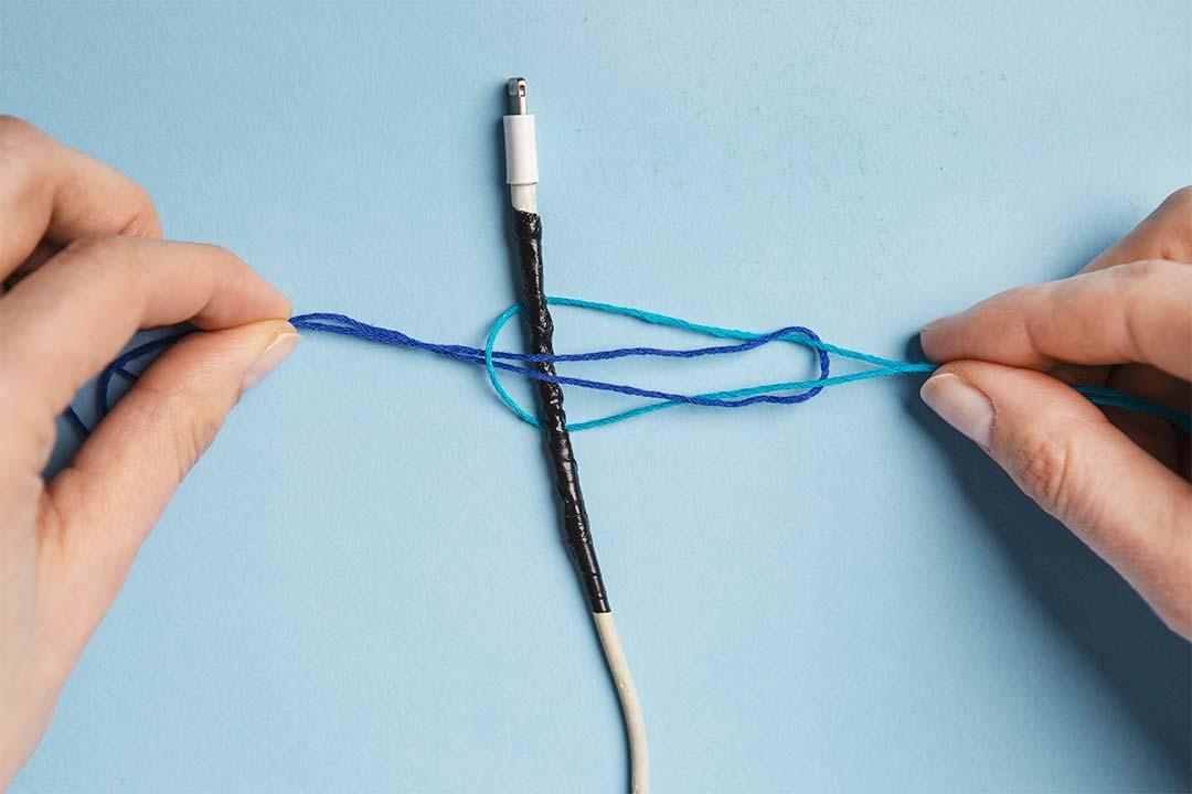 Żyj pięknie - Naprawiamy zniszczony kabel odładowarki