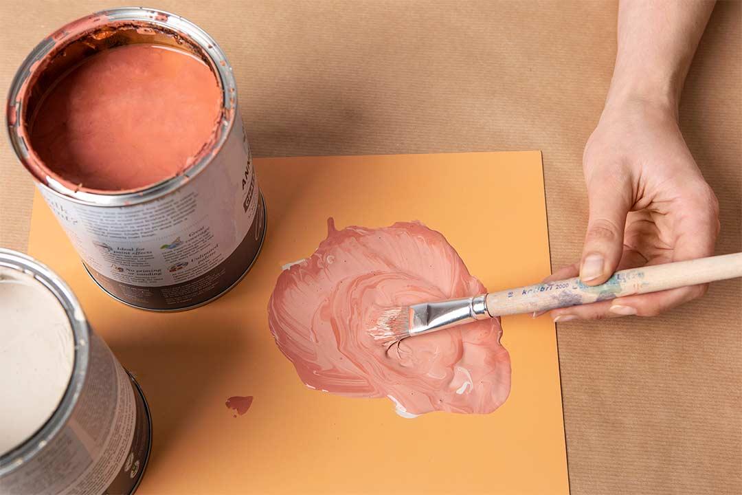 Żyj pięknie - Malowane doniczki