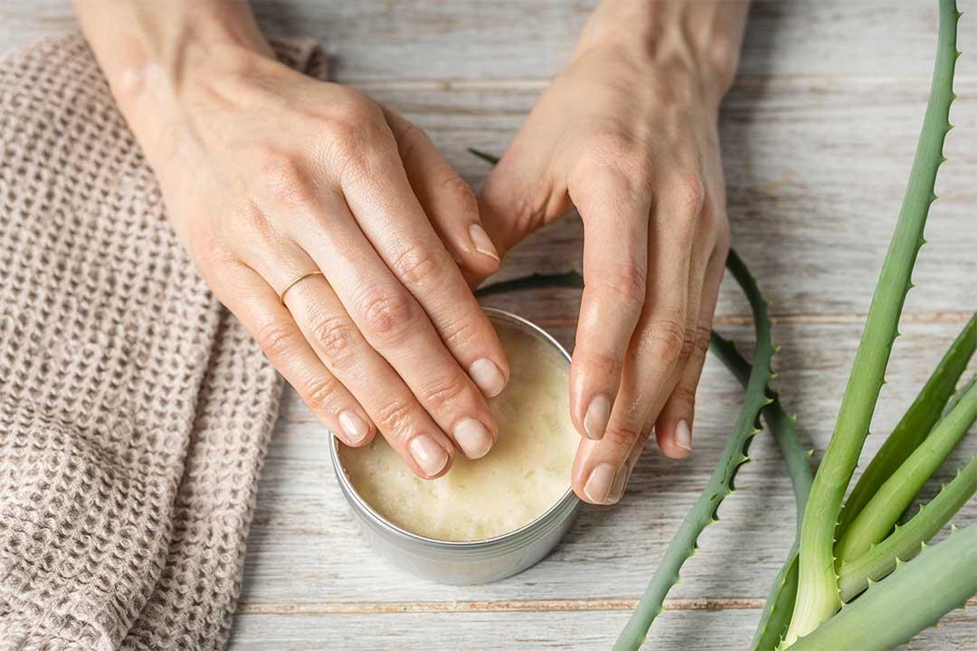 Żyj pięknie - Aloesowy balsam poopalaniu