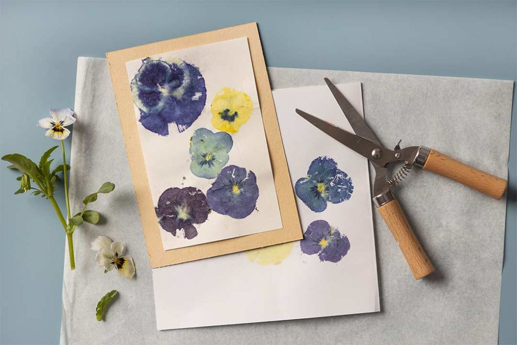 Żyj pięknie - Eco print z naturalnych kwiatów