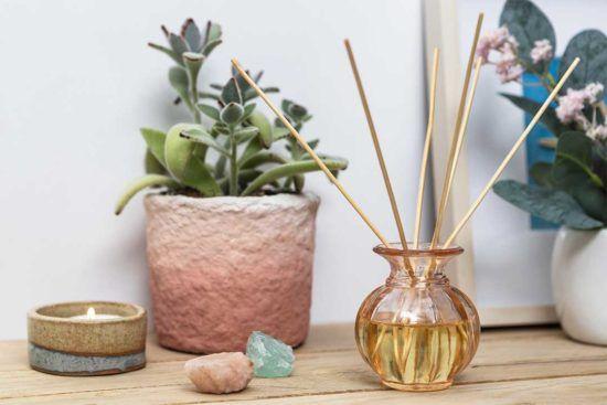 Żyj pięknie - Naturalny dyfuzor zapachowy do domu